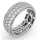 Eternity Ring Sara 18K White Gold Diamond 3.00ct H/Si - image 2