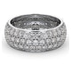 Eternity Ring Sara 18K White Gold Diamond 3.00ct H/Si - image 3