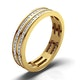 Eternity Ring Holly 18K Gold Diamond 1.00ct H/Si - image 1