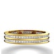 Eternity Ring Holly 18K Gold Diamond 1.00ct H/Si - image 2