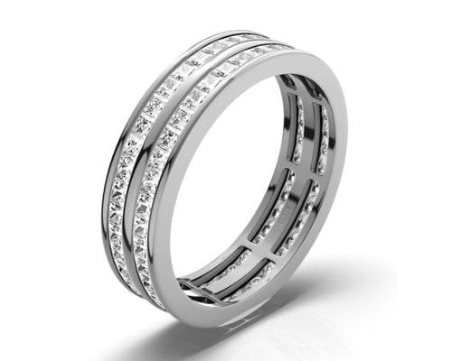 Holly Eternity Rings