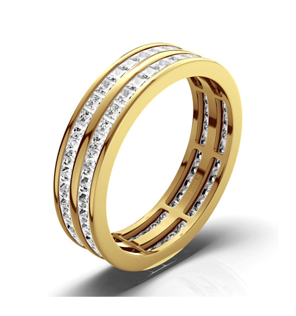 Eternity Ring Holly 18K Gold Diamond 3.00ct H/Si - image 1