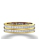 Mens 2ct G/Vs Diamond 18K Gold Full Band Ring  IHG43-422XUA - image 2