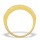 Diamond 1.00ct And 18K Gold Half Eternity Ring - N4495 - image 2