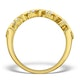Diamond 0.50ct And 18K Gold Half Eternity Ring - N4498 - image 2