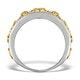 18K GOLD ADORA 1.22ct PAVE SET Diamond Ring - image 2
