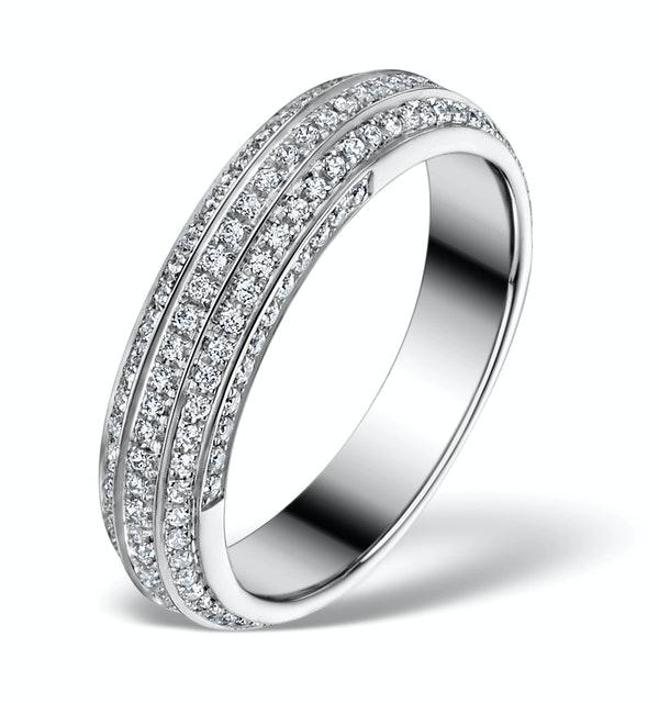 Diamond Eternity Ring - Cosmopolitan - 0.53ct 18K White Gold - N4529 - image 1