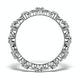 Diamond Eternity Ring - Trellis - 0.42ct set in 18K White Gold - N4520 - image 2
