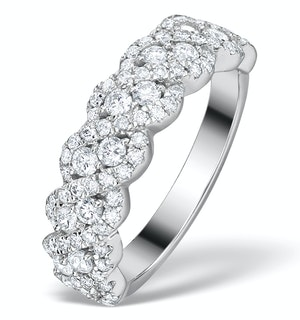 Diamond Weave Ring 1CT H/Si in 18K Gold - N4545Y