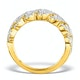 Diamond Weave Ring 1CT H/Si in 18K Gold - N4545 - image 2