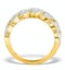Lab Diamond Weave Ring 1CT H/Si in 9K Gold - N4545 - image 2