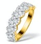Lab Diamond Weave Ring 1CT H/Si in 9K Gold - N4545 - image 1