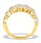 Diamond Weave Ring 1.20CT H/Si in 18K Gold - N4546 - image 2