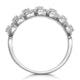 Ariane Diamond Half Eternity Ring 0.40ct Set in 18K White Gold - image 3