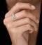 Ariane Diamond Half Eternity Ring 0.40ct Set in 18K White Gold - image 2