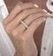 1.35ct Asteria Baguette Eternity Diamond Ring in 18K White Gold - image 3