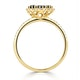 Sapphire 1.31ct And Diamond 18K Yellow Gold Alegria Ring - image 3