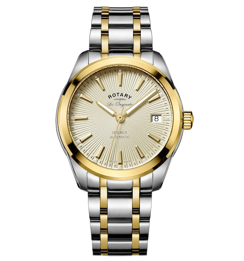 Rotary Les Originales Legacy Automatic Swiss Ladies Two Tone Watch - image 1
