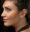 Lab Diamond Cluster Flower Earrings 0.25ct  set in 9K White Gold - image 3