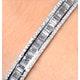 18K White Gold Diamond Bangle 2.00ct H/Si - image 3
