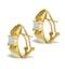 Diamond 0.36ct 18K Gold Earrings - RTC-P3214 - image 2