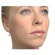 Diamond Drop Earrings 18K White Gold Rubover - image 3