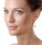 18K White Gold Alessia 2.50ct Diamond and Yellow Diamond Halo Earrings - image 3