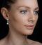 Vintage Diamond Drop Earrings - Vittoria - 0.80ct - in 18K White Gold - image 3