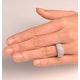 18K White Gold Diamond Ring 1.35ct - image 2