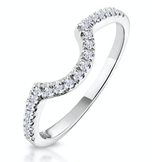 Ella Matching Wedding Band 0.30ct G/Si Diamond in 18K White Gold