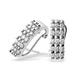 18K White Gold Diamond Earrings (0.50ct) - image 1
