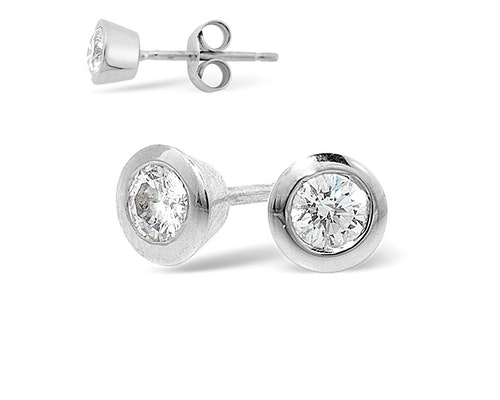 Platinum Diamond Earrings