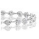 0.25ct Diamond Heart Bracelet Set In Silver - image 2