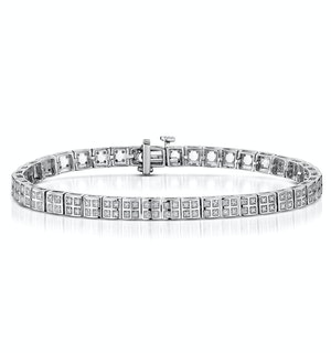 Vivant Collection Diamond Bracelet 0.52ct in 925 Silver - UD3258