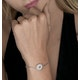 Silver Starry Sun Bracelet with Adjustable Lariat - Tesoro Collection - image 2
