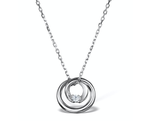 Silver Drop Pendants And Necklaces