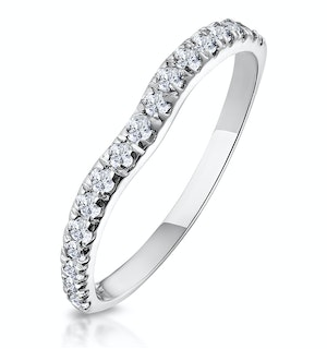 Matching Wedding Band 0.27ct H/Si Diamond in Platinum