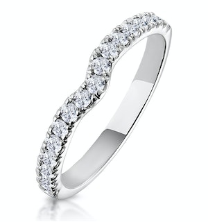 Matching Wedding Band 0.30ct H/Si Diamond in Platinum
