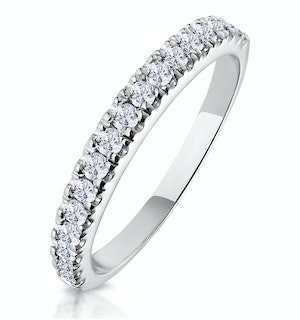 Matching Wedding Band 0.45ct H/Si Diamond  in 18K White Gold