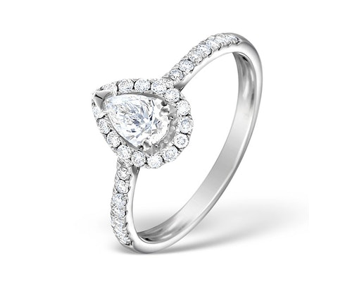 Ella Pear Engagement Rings