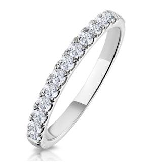 Matching Wedding Band 0.35ct H/Si Diamond  in 18K White Gold