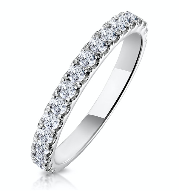 Aria Matching Wedding Band 0.55ct H/Si Diamond  in 18K White Gold - image 1