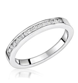 Charlotte 2.6MM Wedding Band 0.20ct H/Si Diamonds Platinum