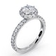 Alessandra GIA Diamond Engagement Ring Platinum 1.60CT G/SI2 - image 4