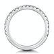 Alessandra Matching 2.6mm Wedding Band 0.52ct  H/Si Diamonds Platinum - image 3
