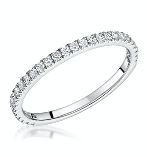 Katarin Matching Diamond Wedding Band 0.35ct in Platinum