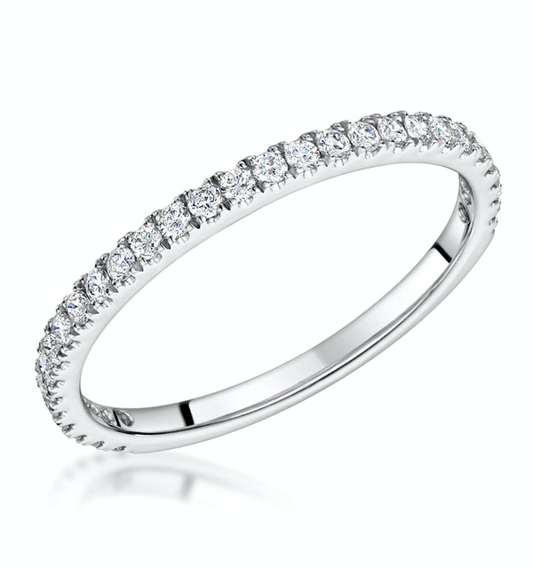 Katarin Matching Diamond Wedding Band 0.35ct in Platinum - image 1