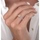 Katarin Yellow Diamond Halo Engagement Ring 1.32ct Platinum - image 4