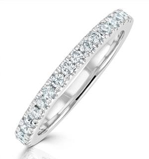 Elizabeth Matching Wedding Band 0.45ct G/Si Diamond in Platinum
