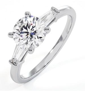 Special - Isadora GIA Diamond Engagement Ring Platinum 1.25ct G/VVS2